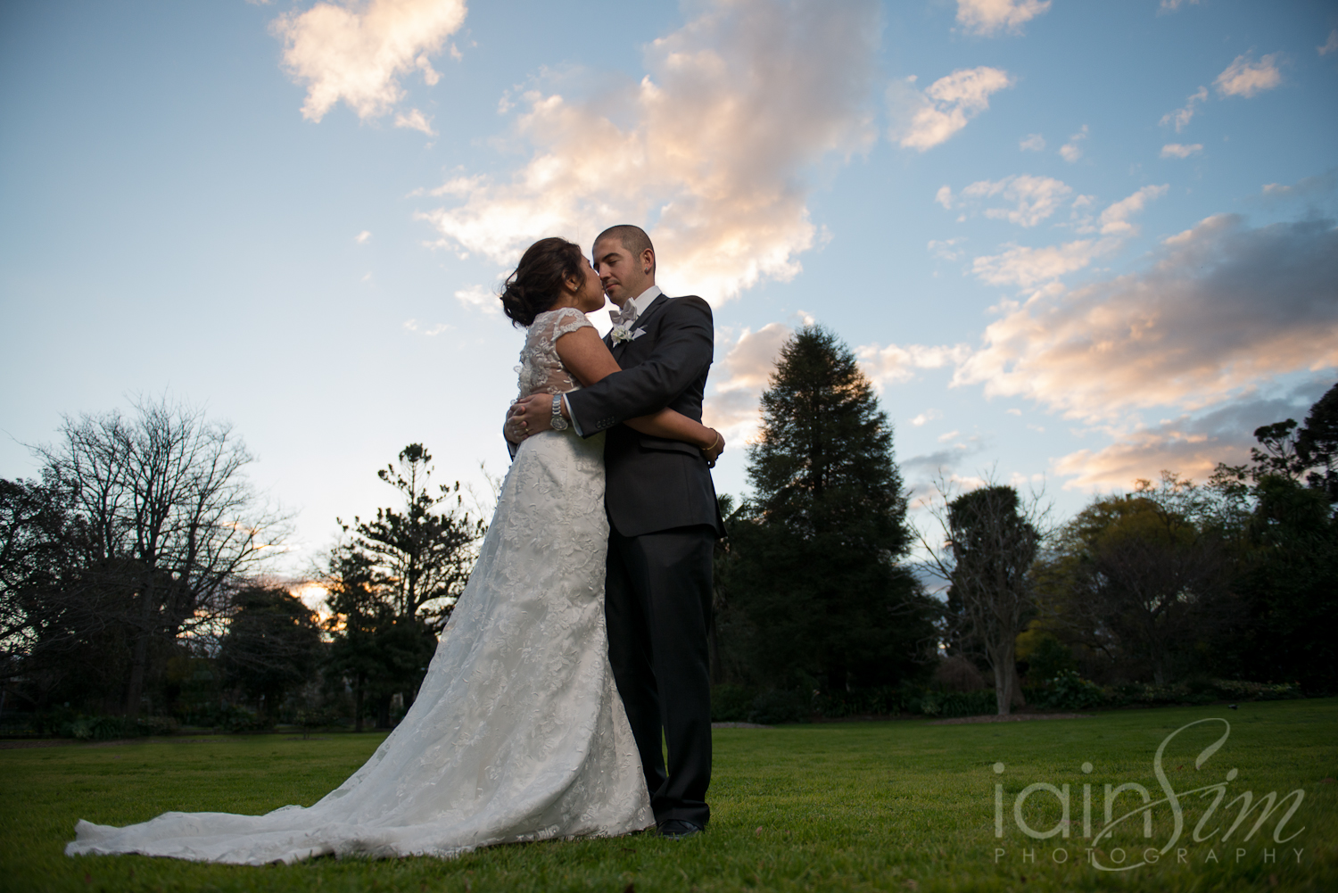 Stefanie and David at Roselyn Court