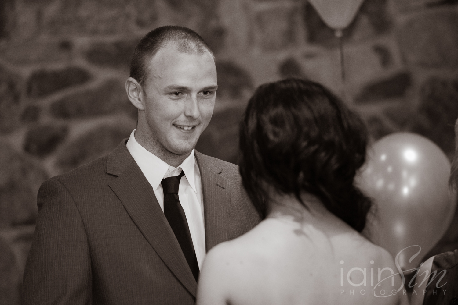 Rebecca and Josh by Iain Sim Photography
