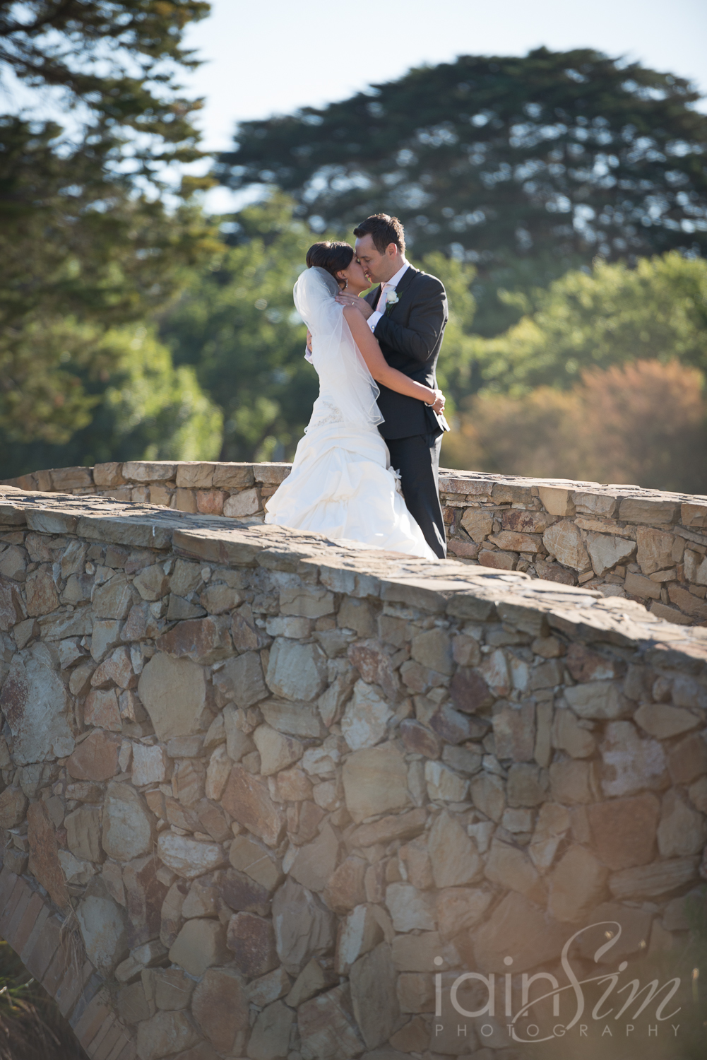 Chris and Aleks at Riversdale Golf Club by Iain Sim Photography