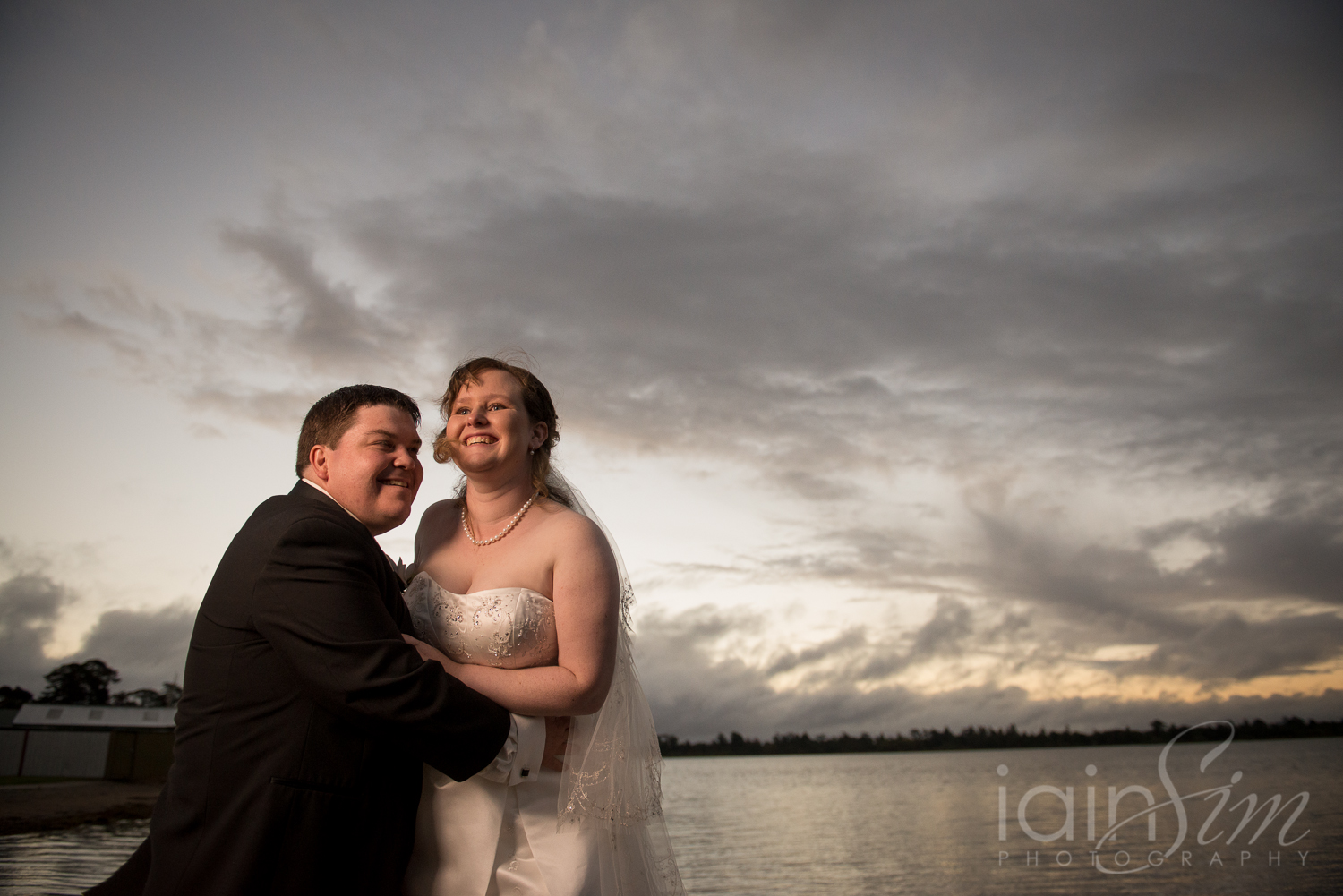 Tim and Kat at the Ballarat Yacht Club by Iain Sim Photography