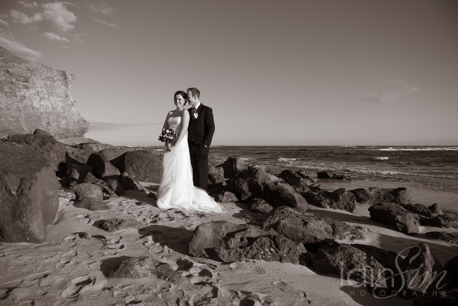 Whitney and David's Phillip Island Wedding